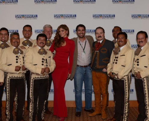 Ana Barbara and Antonio Aguilar