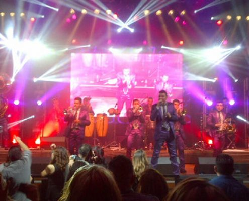 Banda El Recodo and Banda Los Recoditos at San Manuel