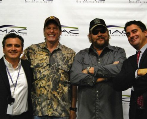 Hank Williams Jr. and Ted Nugent at Mid-America Center