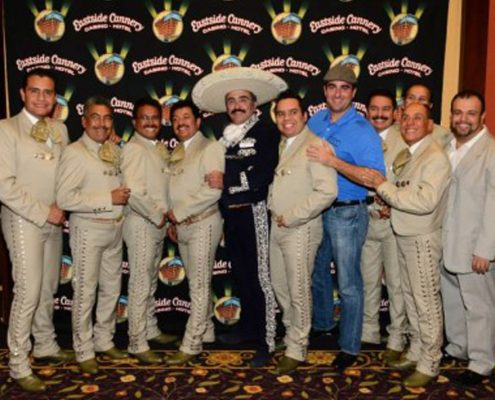Vicente Fernandez Jr Peforms at Eastside Cannery