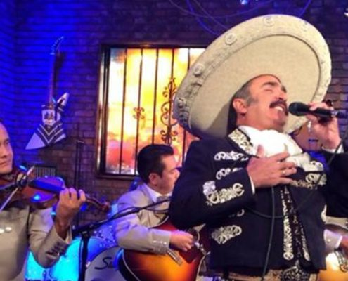 Vicente Fernandez Jr on FOX TV
