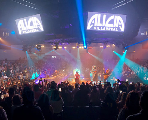 Alicia Villarreal Arena Theater
