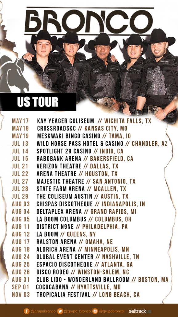 2018 Bronco Tour